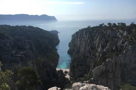 Utsikt: Calanque en Vau med Pointe Castelvieil til høgre. Foto: Øystein Dahl