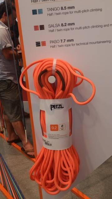Petzl lanserer sine første tau. Så vidt vi vet er de produsert av Edelrid.