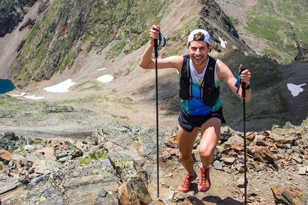 VERDENS BESTE: Hans Kristian Smedsrød er en av verdens beste ultraløpere. Nå har han laget podcast, blant annet med klatrere. Foto: Privat