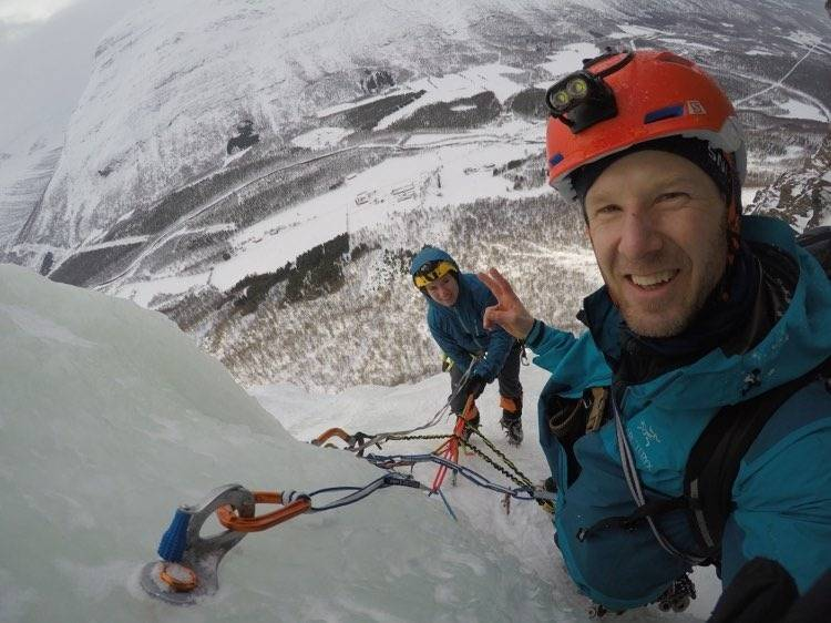 isklatring Christian Dramsdahl korona påske