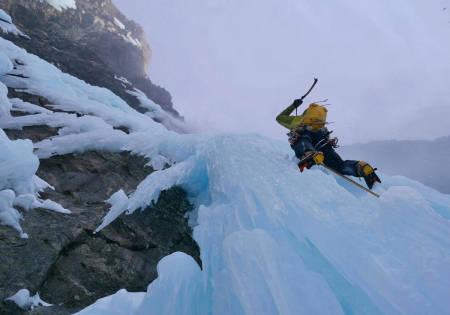 isklatring Gjølapilaren Litldalen