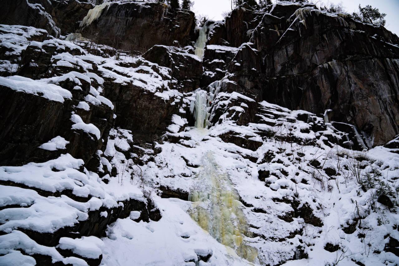 Sabotørfossen, Rjukan