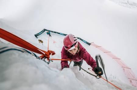 SNØ, Lørenskog, isklatring, isveggen