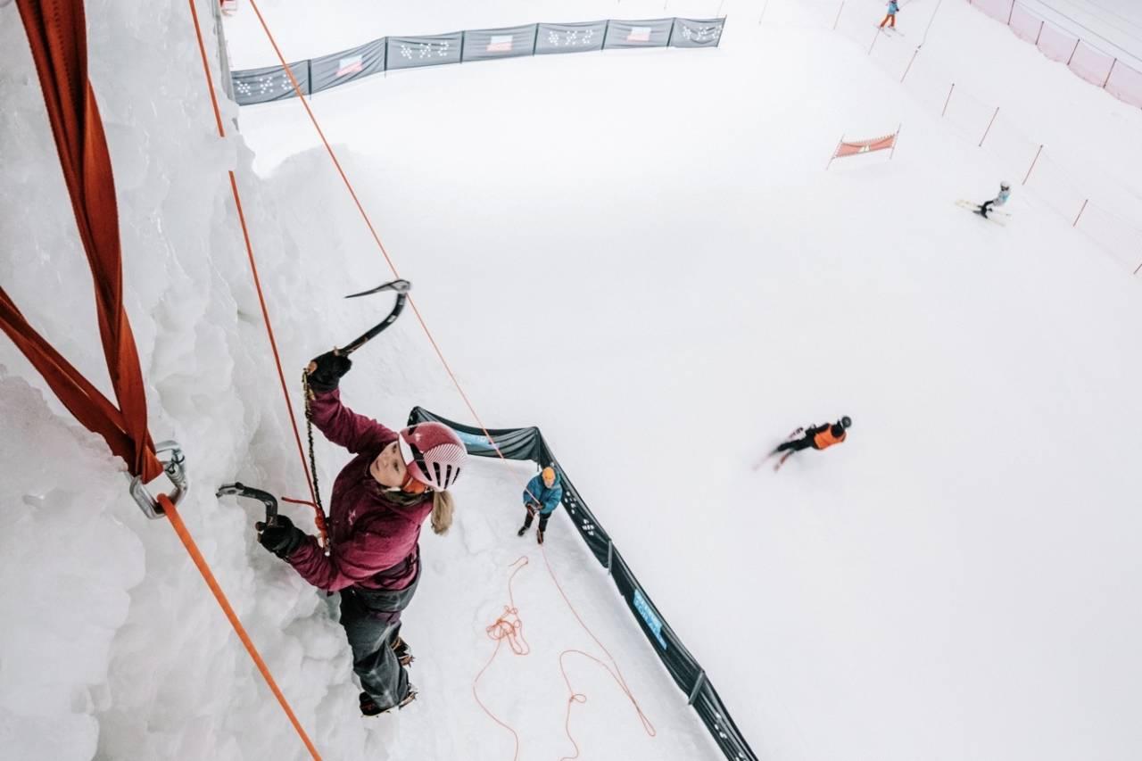 Isklatring, SNØ, Lørenskog