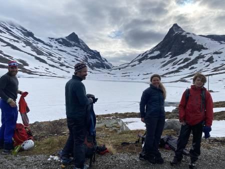Vel nede i Morka-Koldedalen. Foto: Nina Johannesen