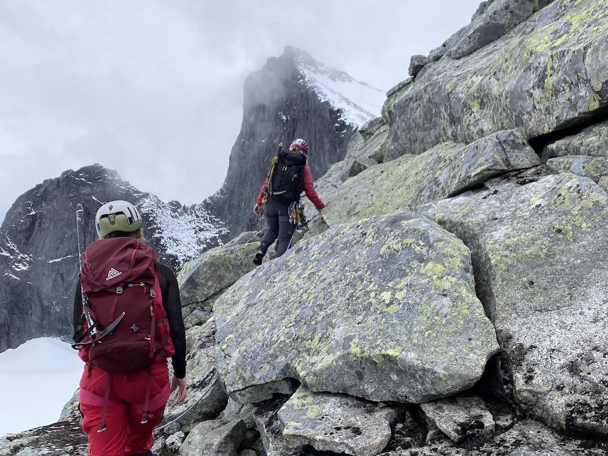 Pionerruta, Falketind, Koldedalen