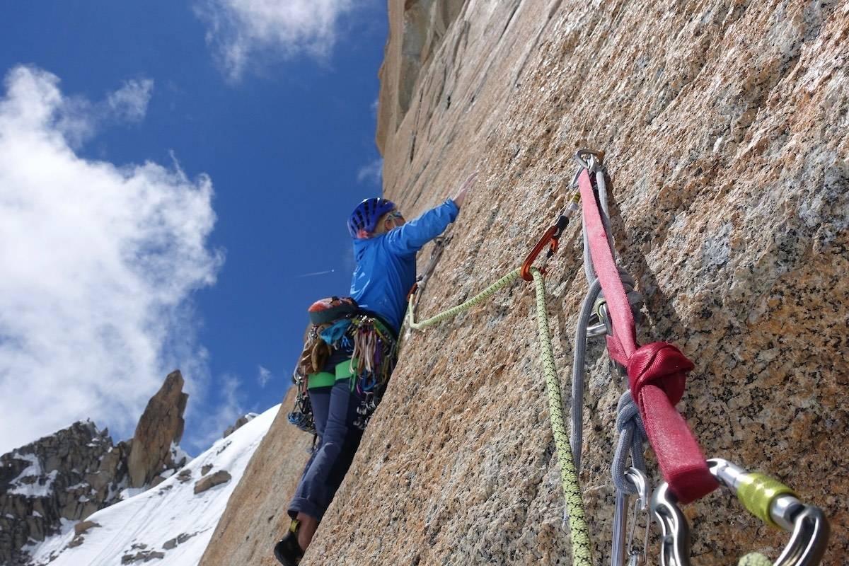 Karin Bergbjørn, klatring, oppdrift, fjell
