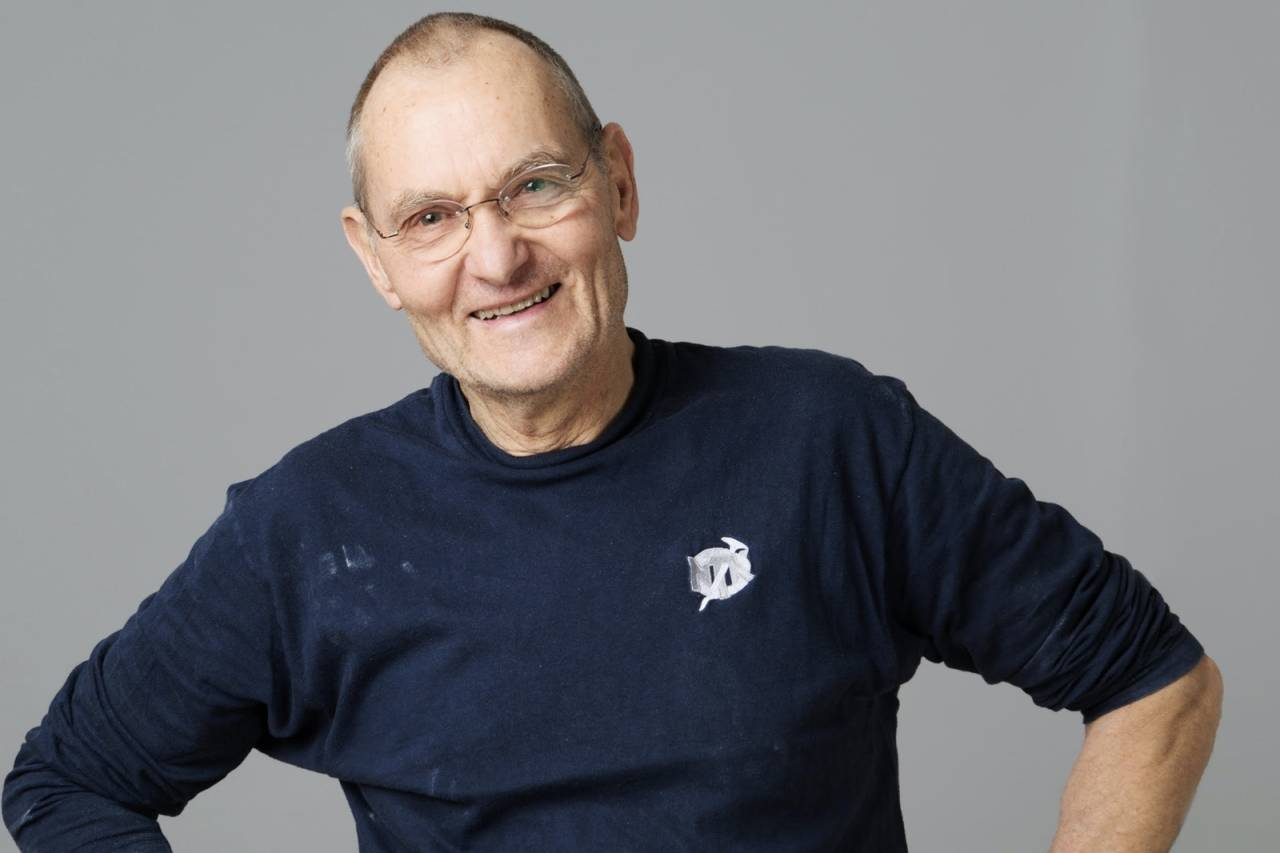 Egil Fredriksen døde etter kort tids sykdom 9.august 2020. Foto: Hanna Jordan.