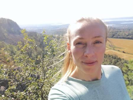 TILBAKE PÅ KOLSÅSTOPPEN: Kaisa er trygt tilbake i Norge, men mange av jentene hun har hatt ansvar for i Ascend Athletics er fortsatt igjen i Afghanistan. Foto: Privat