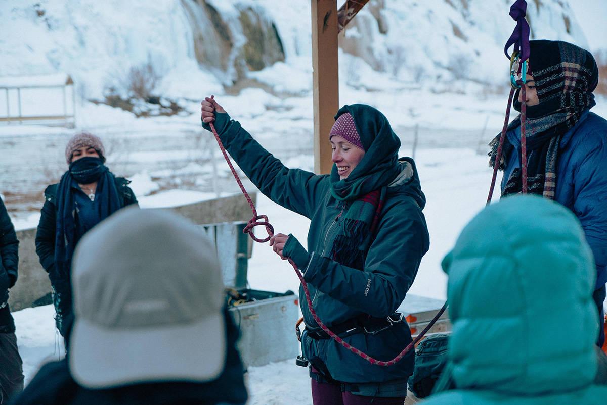 Kaisa Markhus Jenteprisen klatring Afghanistan