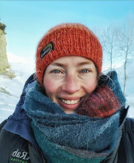 Kaisa i den iskalde vinteren i Afghanistan