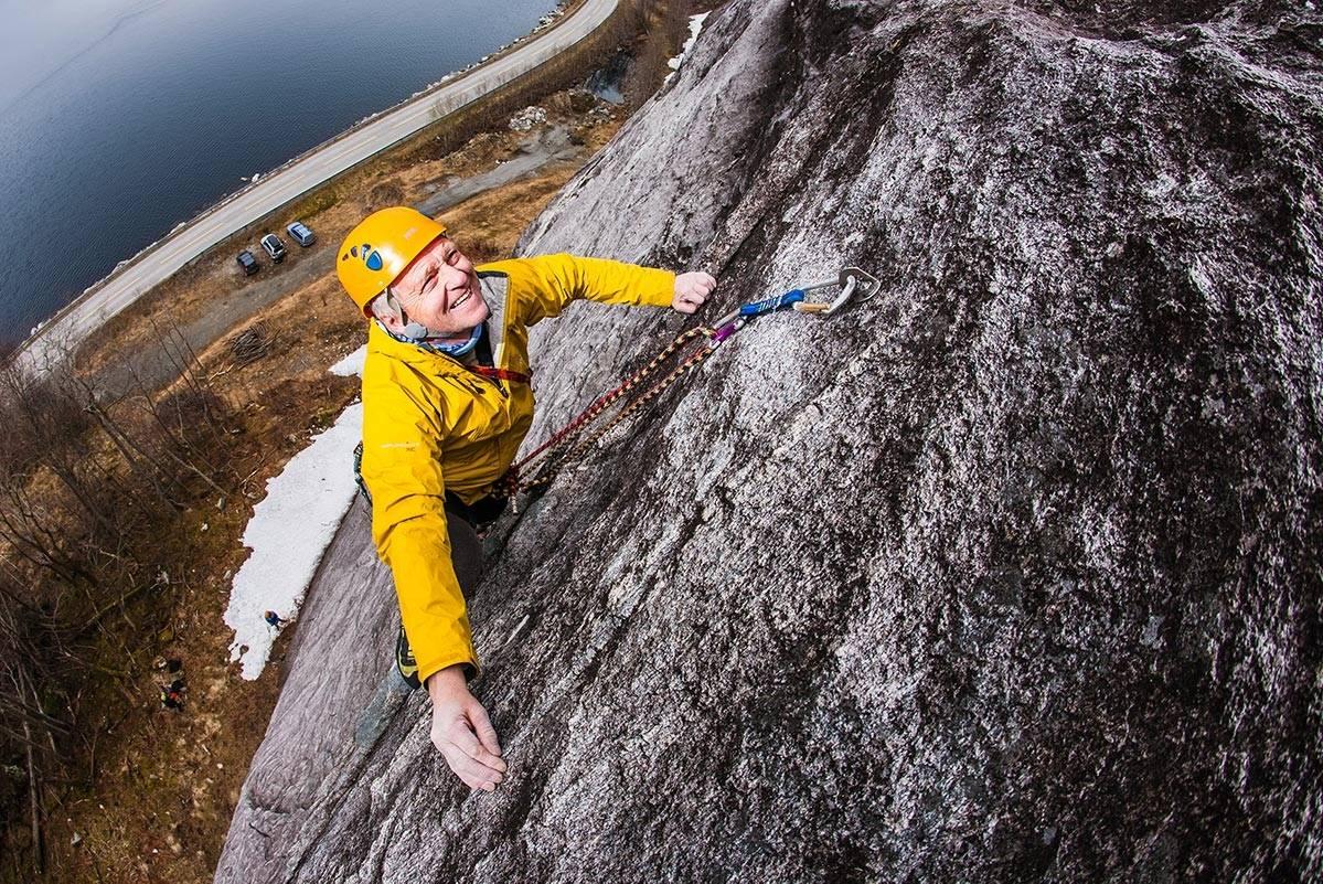 Iver Gjelstenli klatring