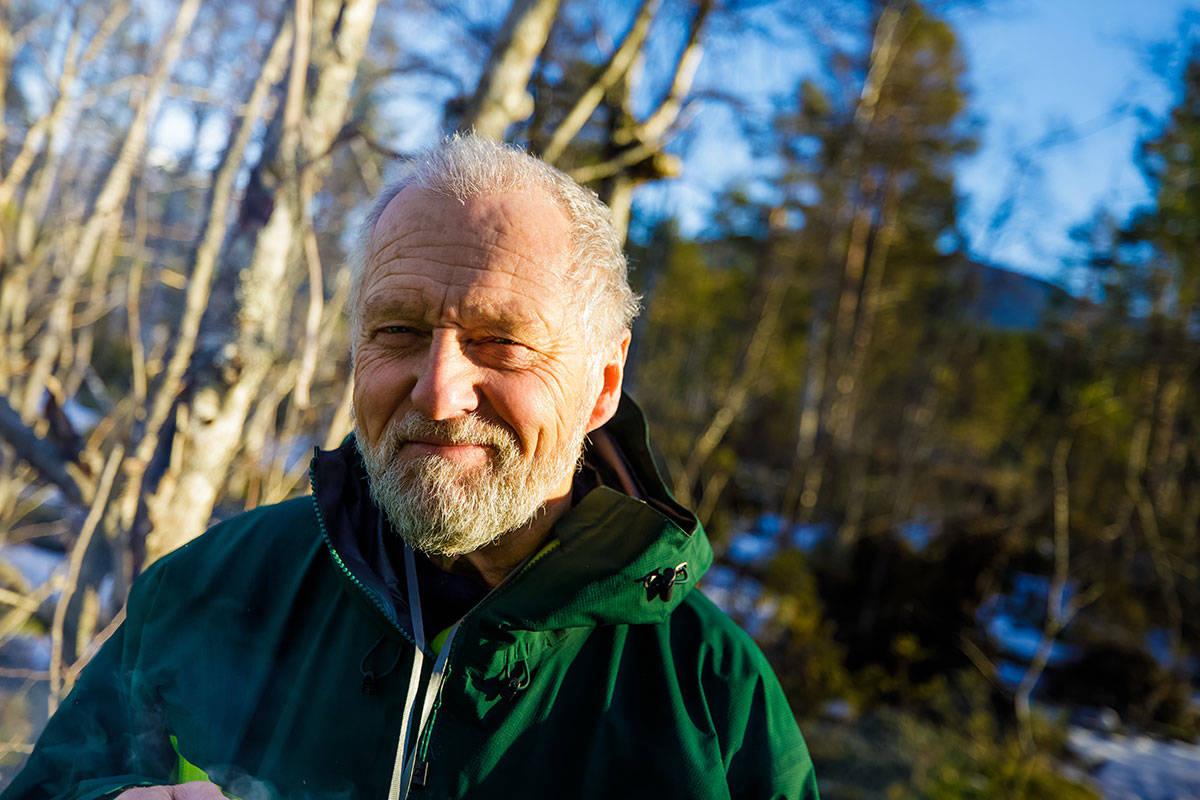 OMKOM 24. JUNI: Iver Gjelstenli var en legendarisk klatrer og friluftsliv-entusiast. Foto: Terje Aamodt