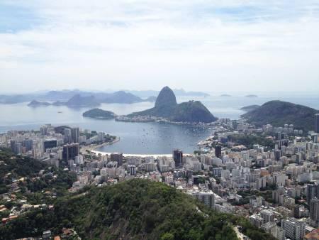 Storby: Rio de Janeiro, verdens beste urbane klatring. Foto: Erik Nerell