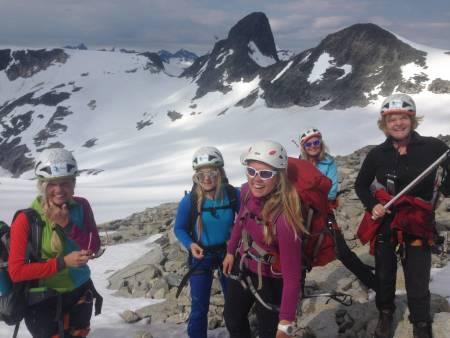Falketind, fjellføring, kvinner