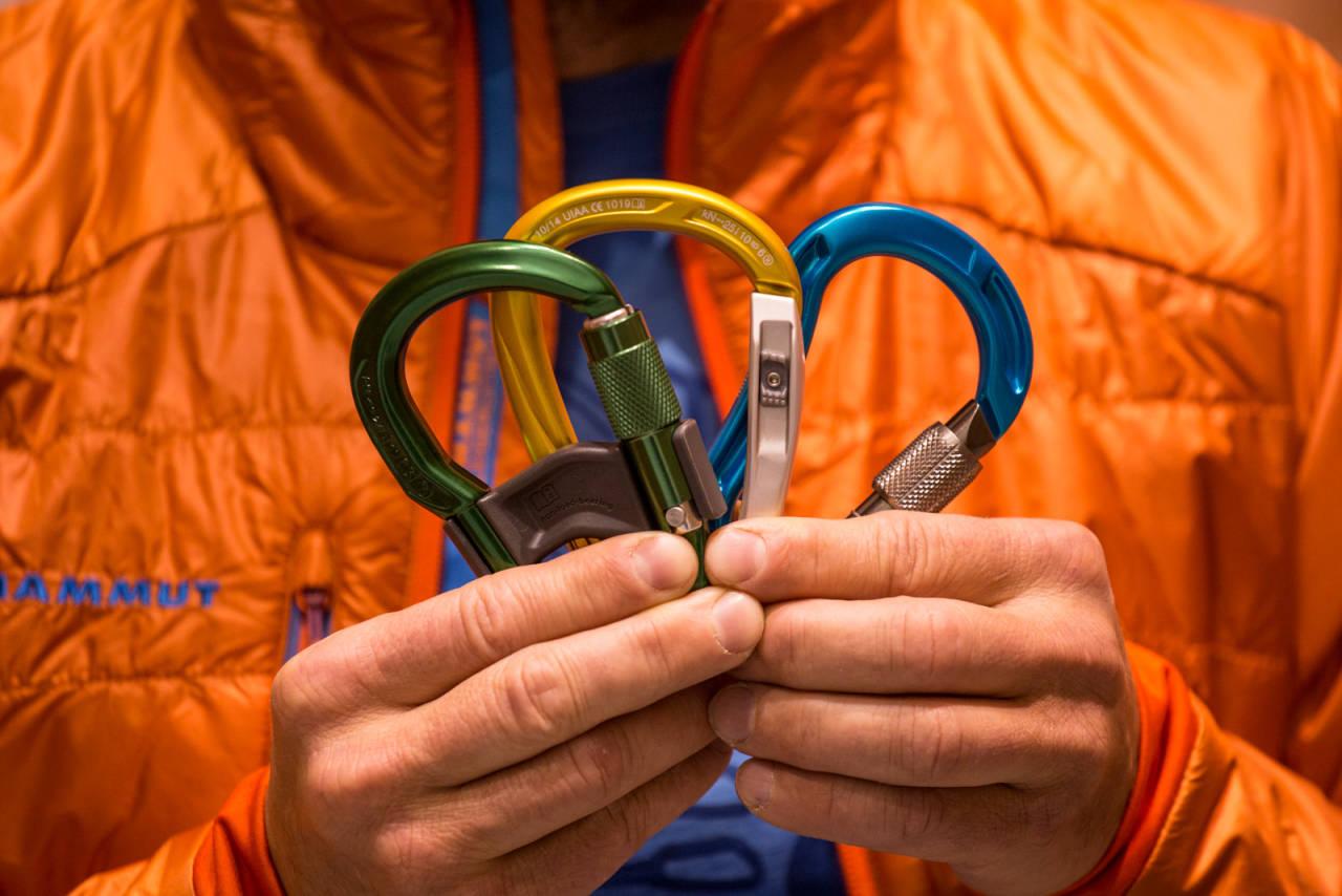 LÅSBARE: Har det noe å si hvilken låsbare karabin du velger? Kanskje. Bilde: Christian Nerdrum
