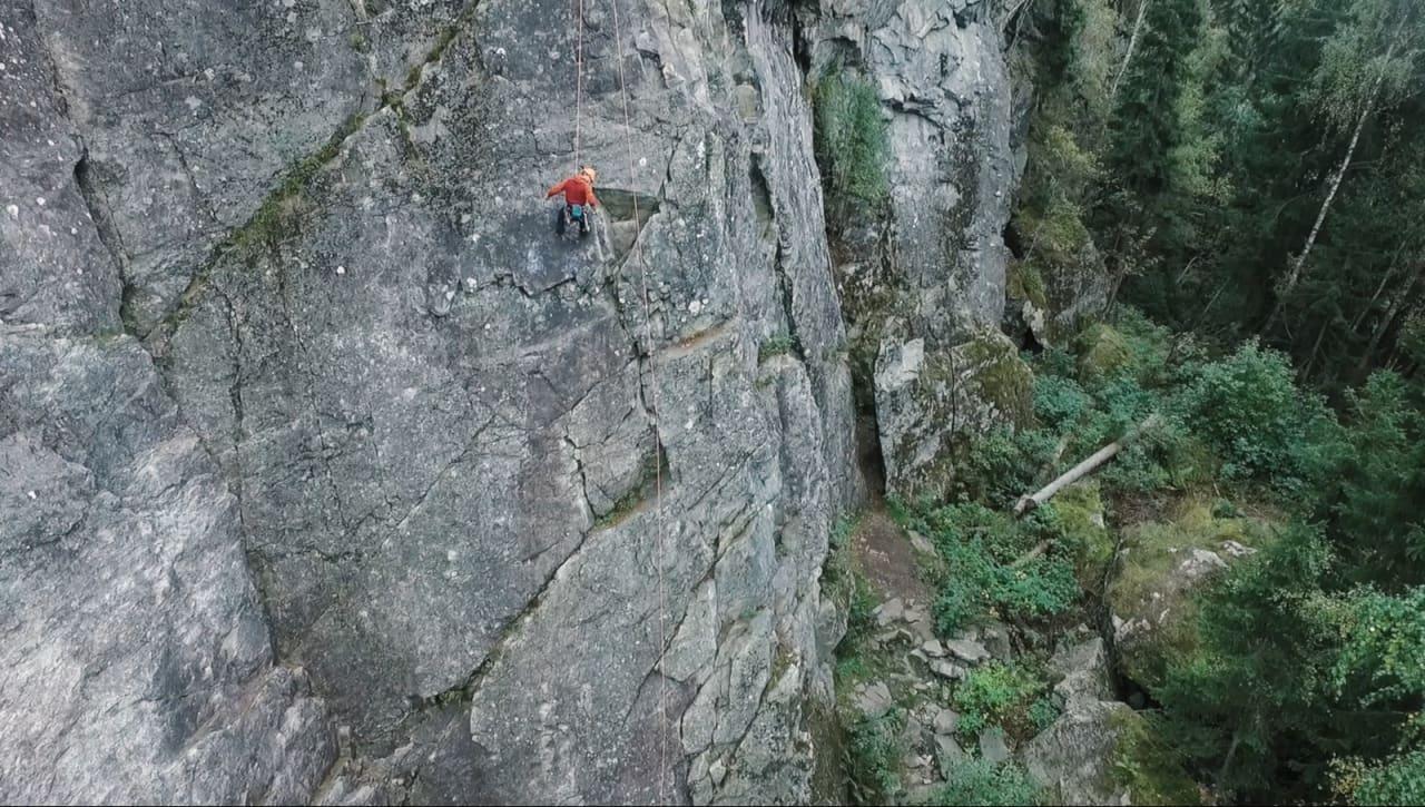 VÆR VARSOM: Fjellet «lever» og mennesker kan gjøre feil. Klatreskolen ser på hvordan du kan få bedre marginer når du klatrer.