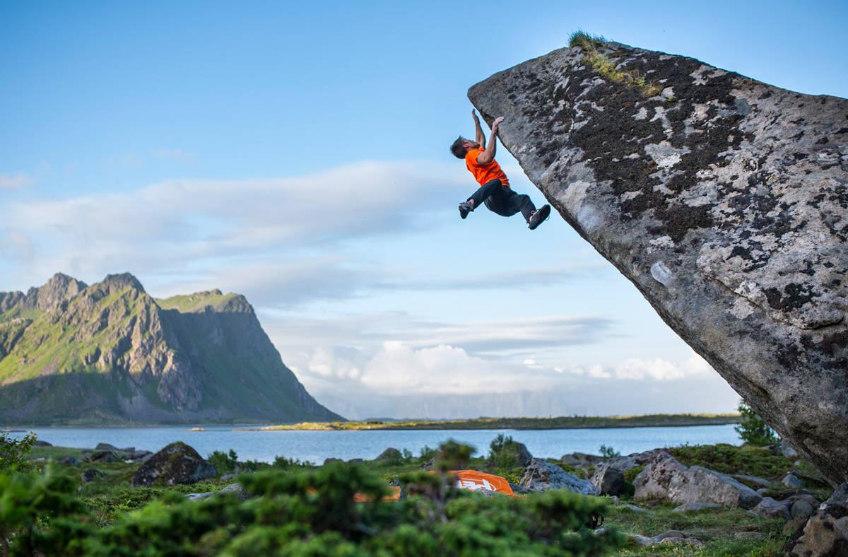 trening klatring styrke