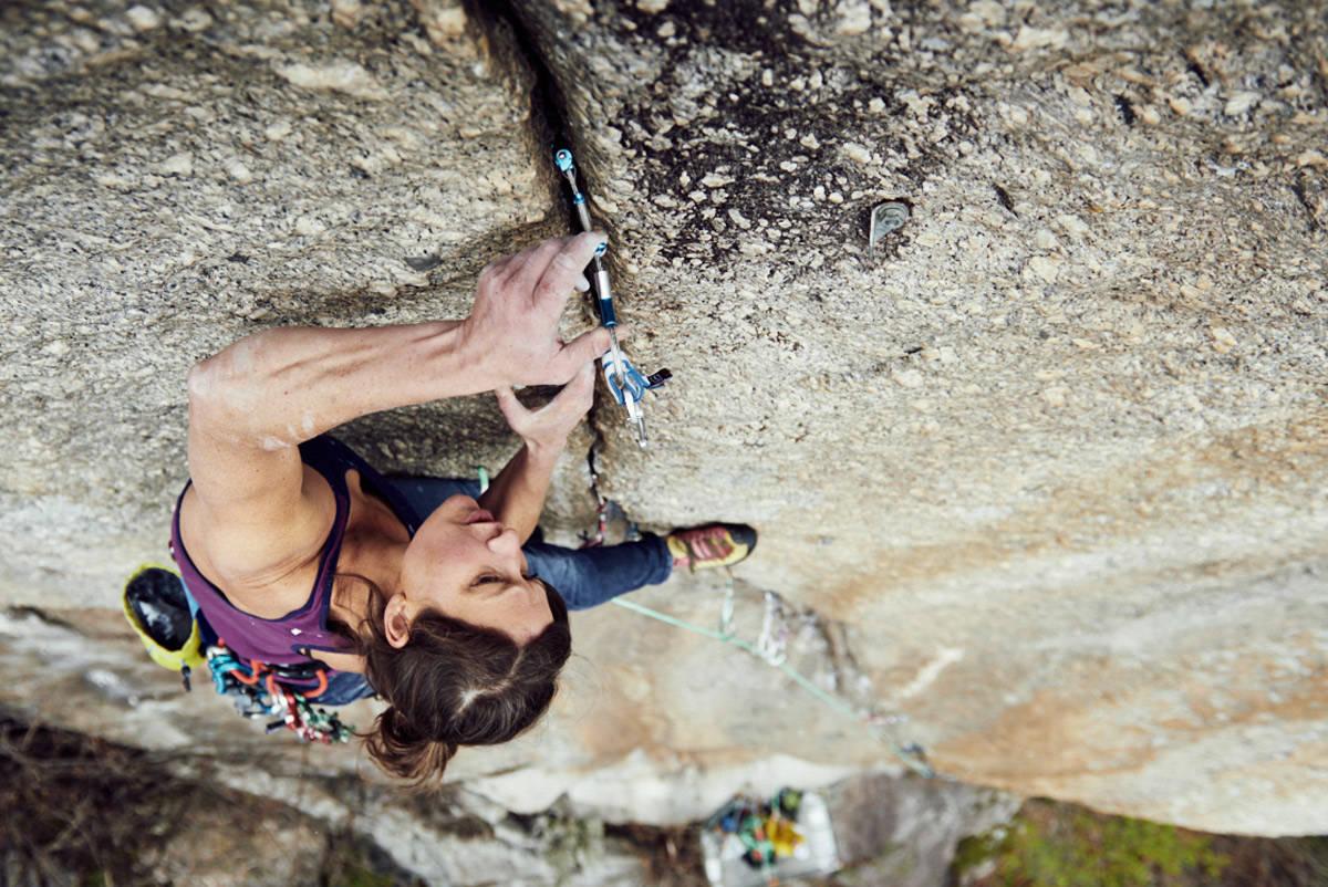 VIKTIG KRAFT: I denne artikkelen avslører vi hvordan du trener power for klatring. Foto: Wild Country