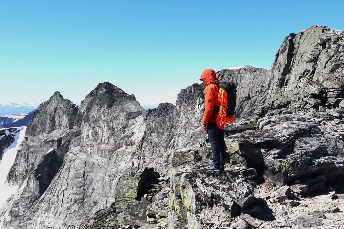 test klatrebukser fjellklatring