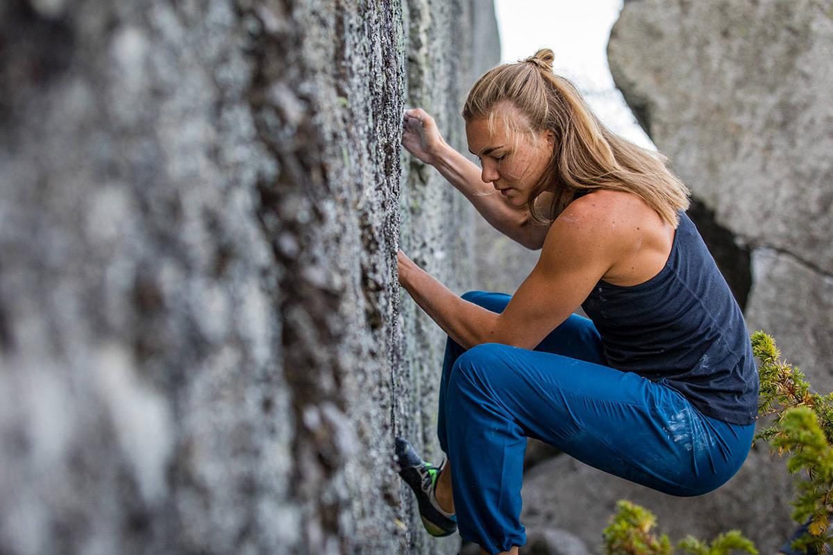 test bukser klatring