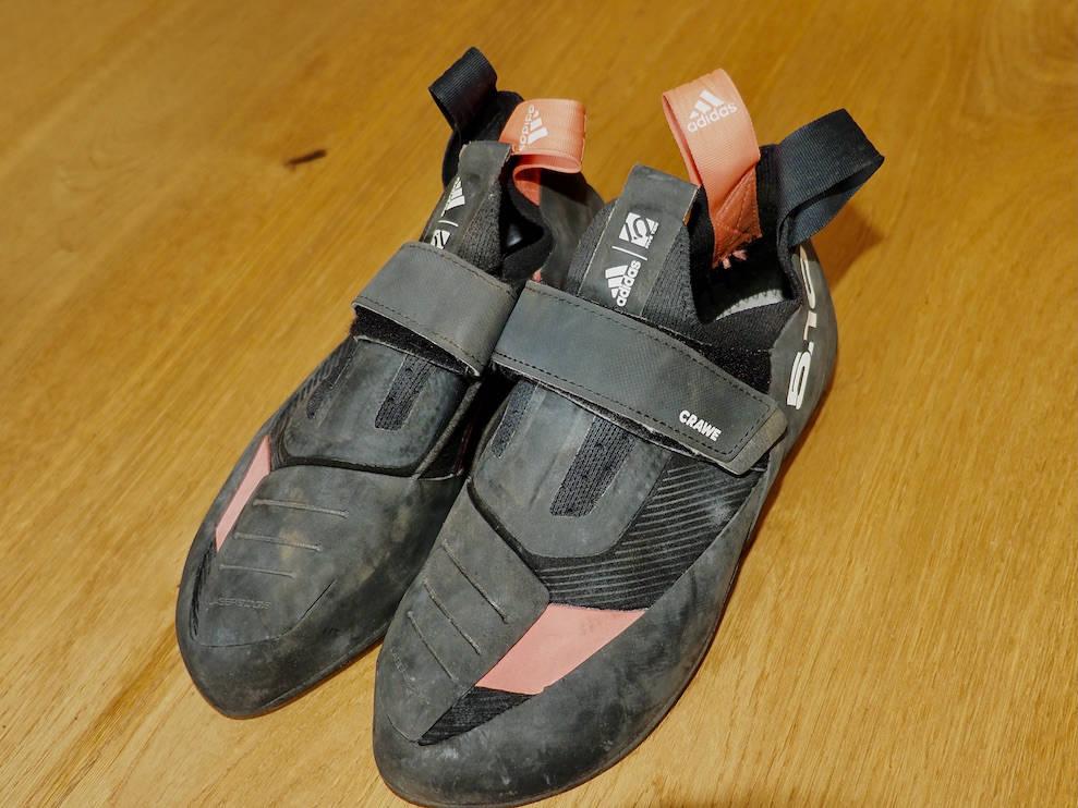 Adidas Five Ten Crawe klatresko test
