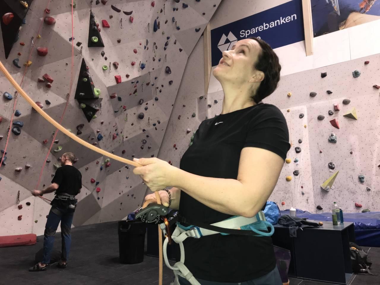 klatring taubrems sikkerhet