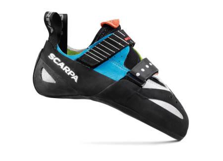 Scarpa Boostic er en av de beste allroundskoene til Scarpa. Les alle våre tester av klatresko fra Scarpa.