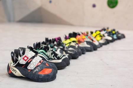 Klatresko, velge, buldring, sportsklatring, fjellklatring