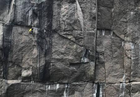 Klatring Profilveggen Jøssingfjord Rogaland John Henry Nilssen