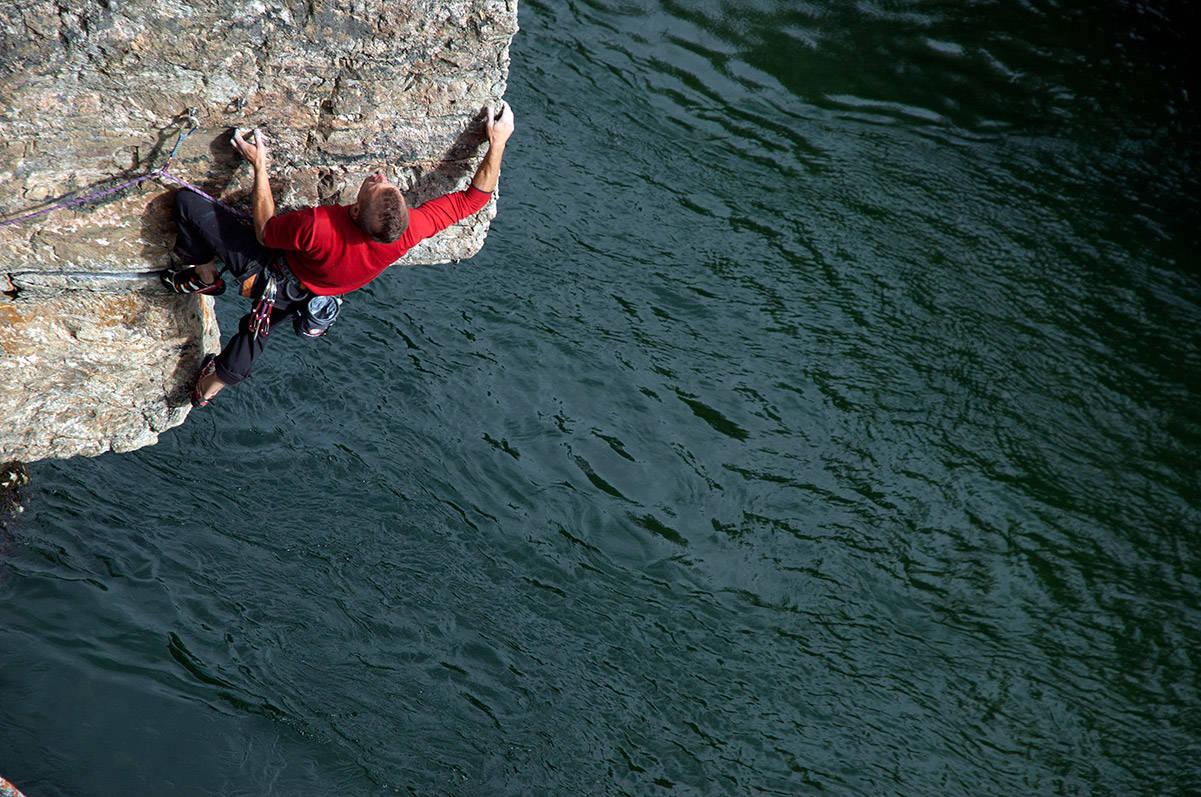 Ishoel klatring Oppdal