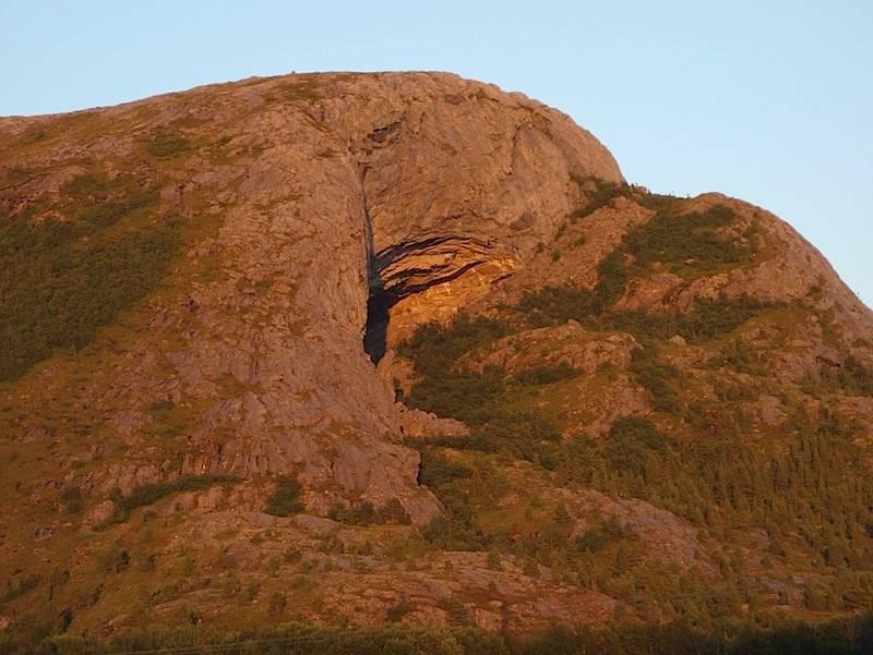 Hanshelleten på Flatanger. Foto: Dag Hagen