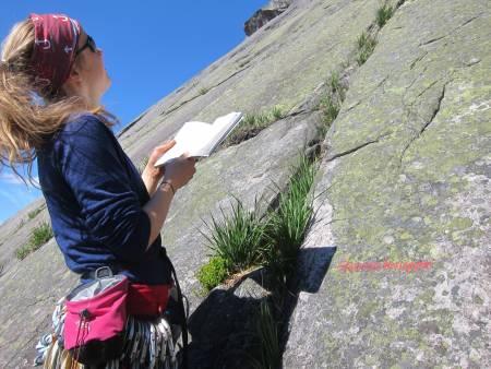 Sternschnuppe, Hægefjell, klatring, ruter,