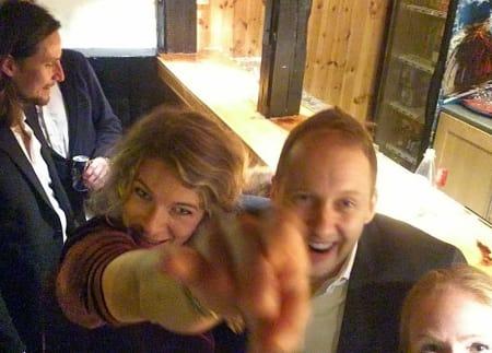 Topp stemning på KKKs julebord. Foto: Dag Hagen