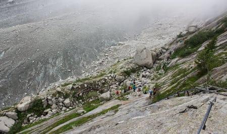Her starter 250 meter melkesyre, dødsangst og adrenalin. Foto: Anders Holtet