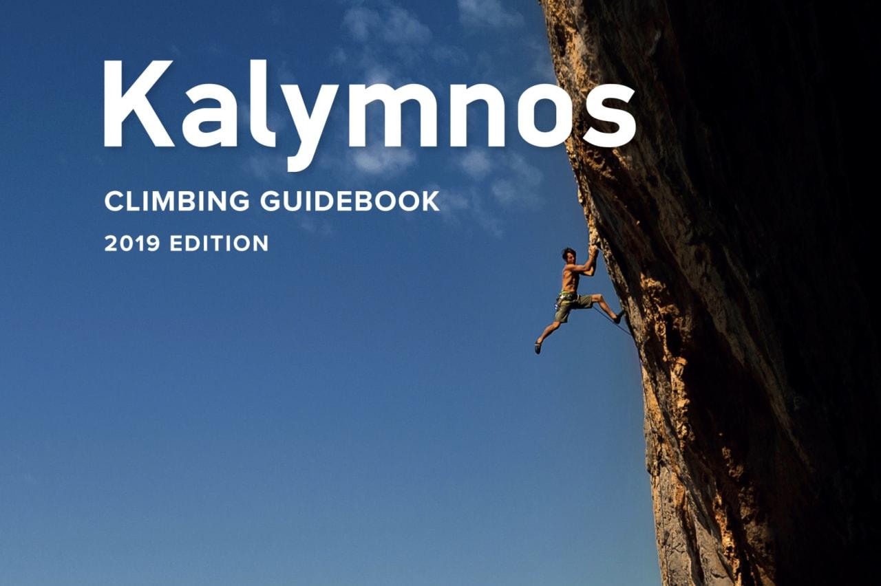 Den kommende lokale guiden til Kalymnos. Forfatter mener at Rockfax har kopiert deler av tidligere førerverk.
