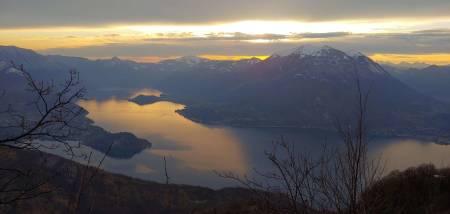 MÅ VENTE: Solnedgang sett fra Stefano Vergini sitt favorittcrag i nord-Italia. Det blir en stund til han kan dra tilbake dit. Foto: Stefano Vergini