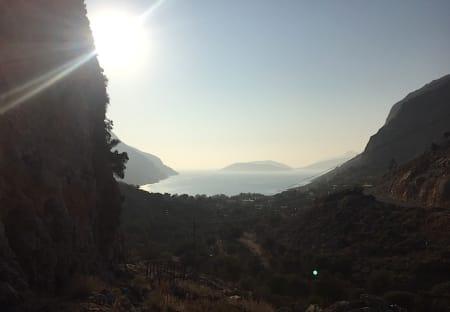 Utsikt fra Arginonta valley. Foto: Dag Hagen