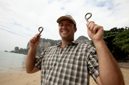 Josh Lyons er mannen bak The Thaitanium Project. Foto: Dag Hagen