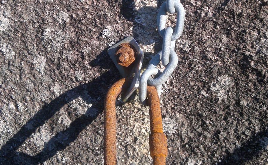 Et anker å være trygg i? Foto: Sindre Bø