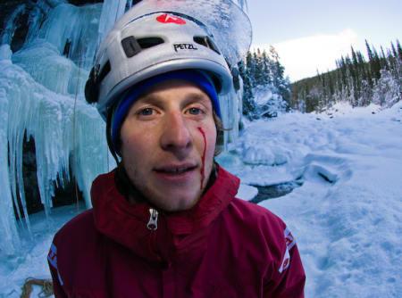 Hard is: Andreas Klarström er ikke uvant med tøffe møter med bratte fosser.