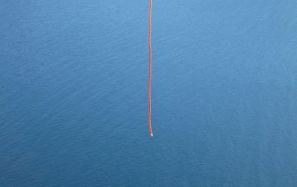 Knute på tråden? Oops…: Foto: Stein Tronstad