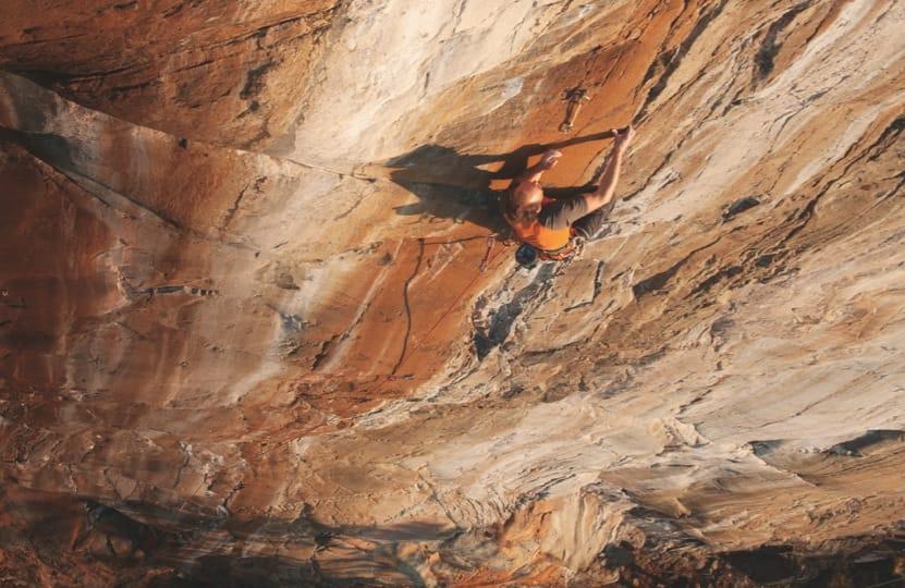 KLIPP: Betyr valg av slynger noe for kla-treprestasjonen? Oskar Hovde går Blodveien (8-) på Drøpping. Foto: Aslak Aastorp