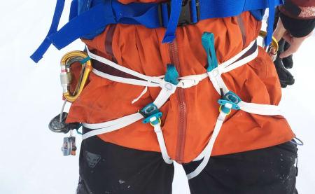 Test av verdens nest letteste topptur-sele