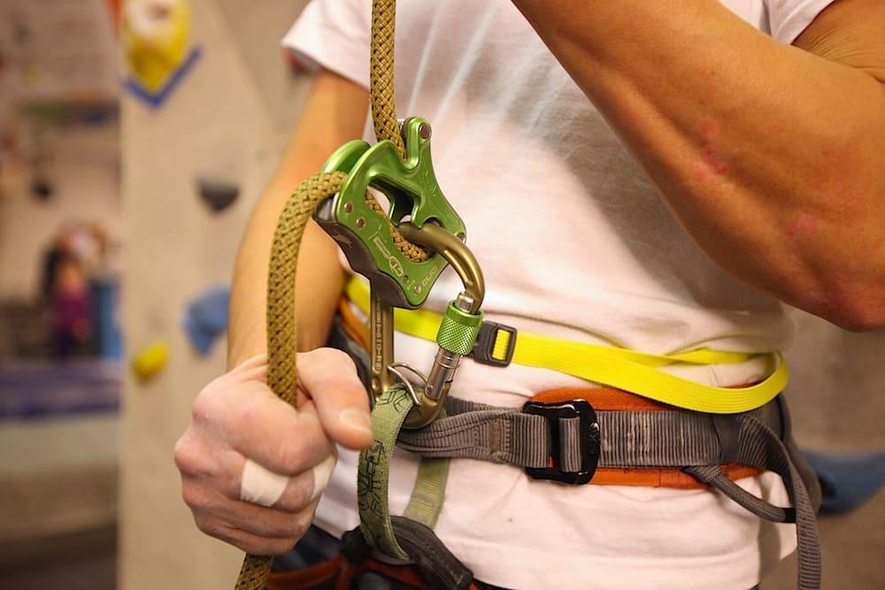 Climbing Technology Click Up i bruk. Foto: Dag Hagen