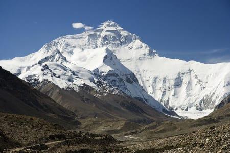 Nordveggen på Everest. Foto: Luca Galuzzi/ Wikipedia.org