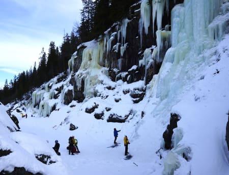Krokan-området ved Rjukan. Foto: Dag Hagen