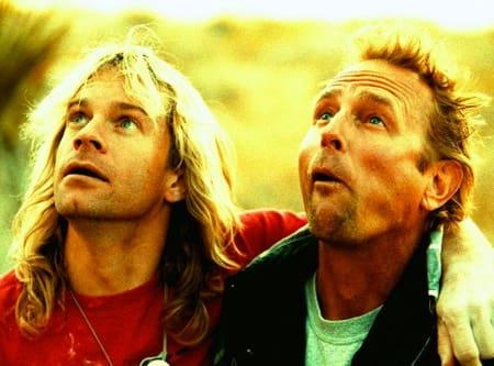 John Bachar (til høyre) og sin gode venn Michael Reardon. Foto: Boone Speed